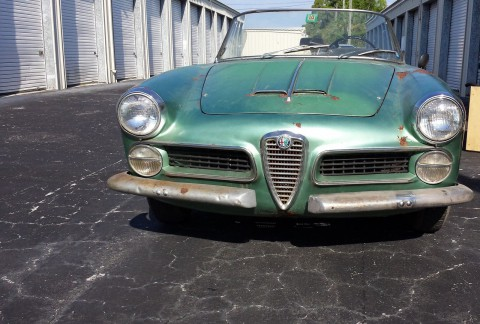 1961 Alfa Romeo touring spider for sale