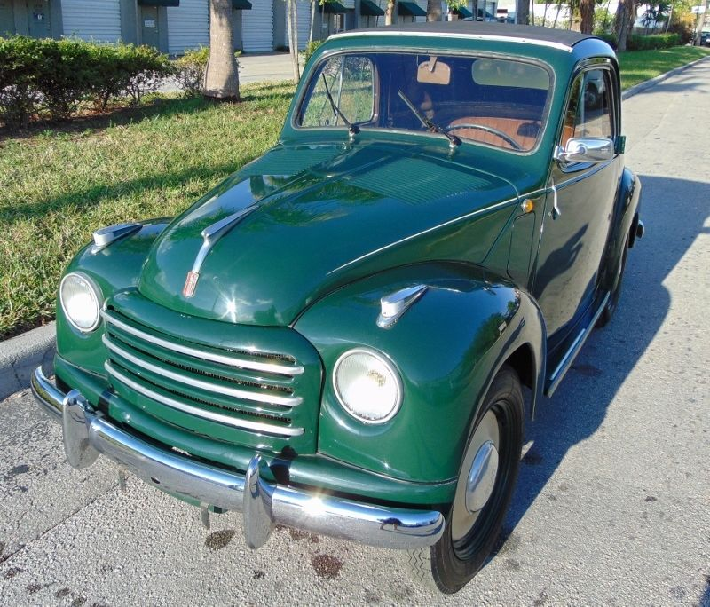 1954 Fiat 500 For Sale
