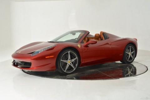2013 Ferrari 458 Spider Certified Pre-owned CPO for sale