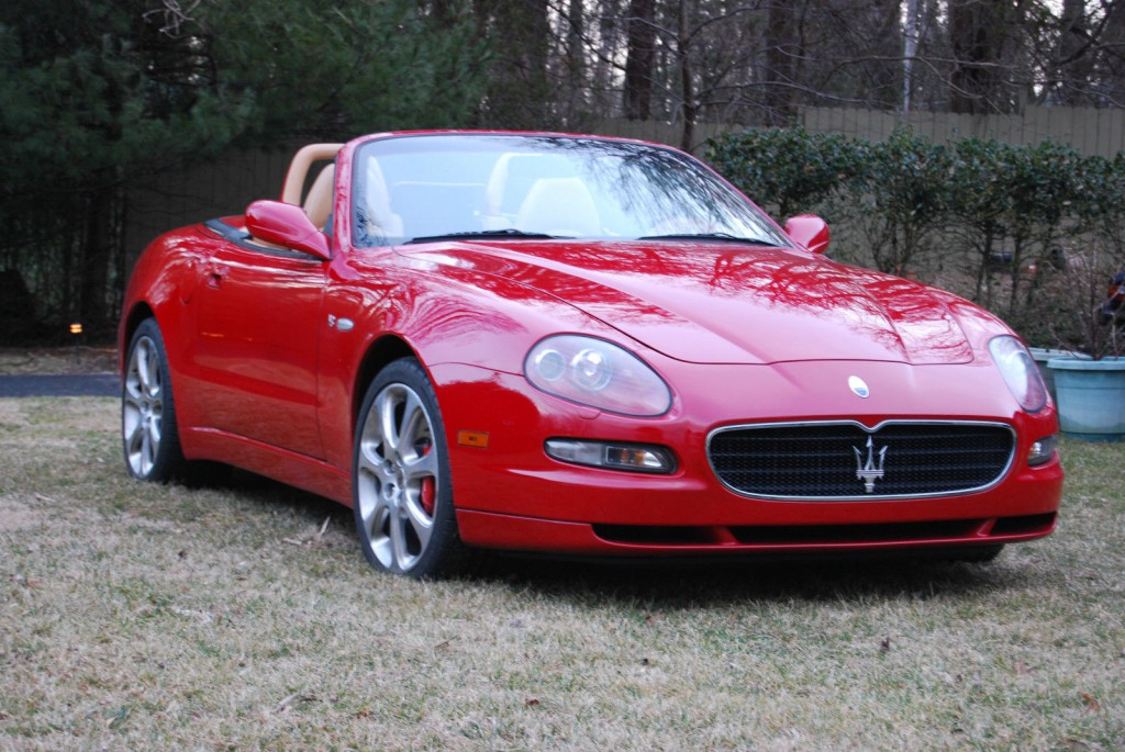 2005 maserati spyder for sale. Black Bedroom Furniture Sets. Home Design Ideas