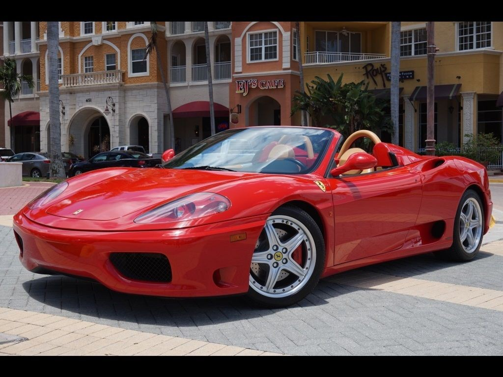 2002 Ferrari 360 Spider For Sale