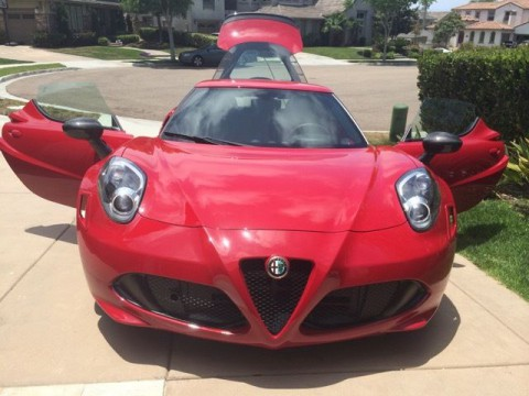 2015 Alfa Romeo 4C Launch Edition for sale