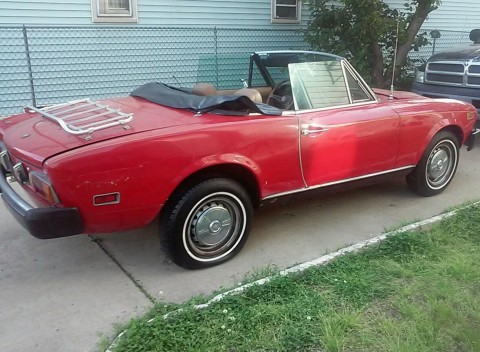 1977 Fiat Spider 1800 for sale