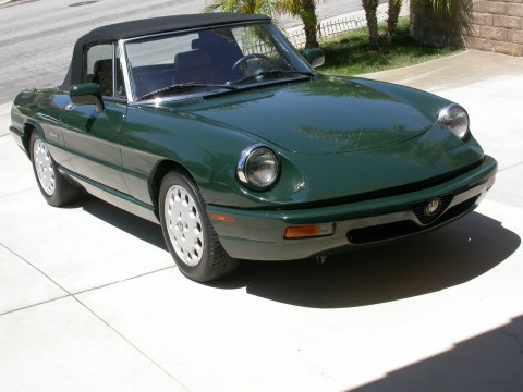 1992 Alfa Romeo Spider Veloce 5 speed for sale