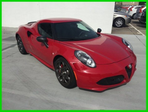 2015 Alfa Romeo Other 4C Launch Edition for sale