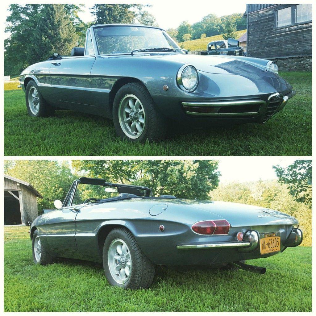1969 Alfa Romeo Spider Duetto For Sale