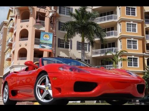 2005 Ferrari 360 SPIDER for sale
