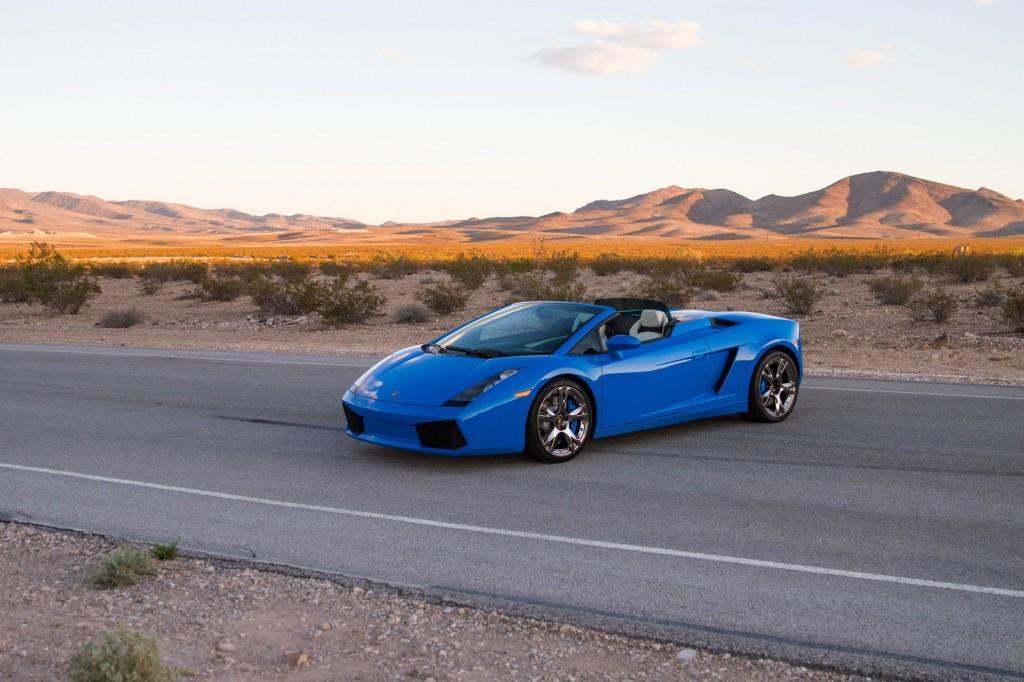 2008 Lamborghini Gallardo Spyder Convertible 2 Door 5 0l