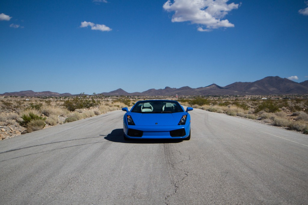 2008 Lamborghini Gallardo Spyder Convertible 2 Door 5.0L