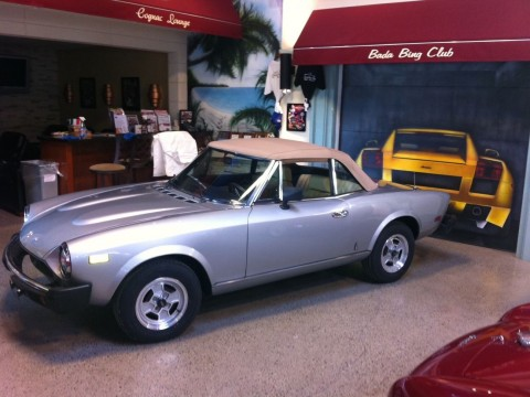 1980 Fiat 124 Spider 2000 for sale