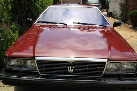 1982 Maserati Quattroporte III Hybrid Super Charged Fuel Injected 302c 5.0 conversion for sale