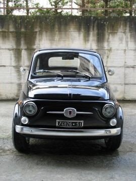 1967 Fiat 500 110F Model L Luxury Black for sale