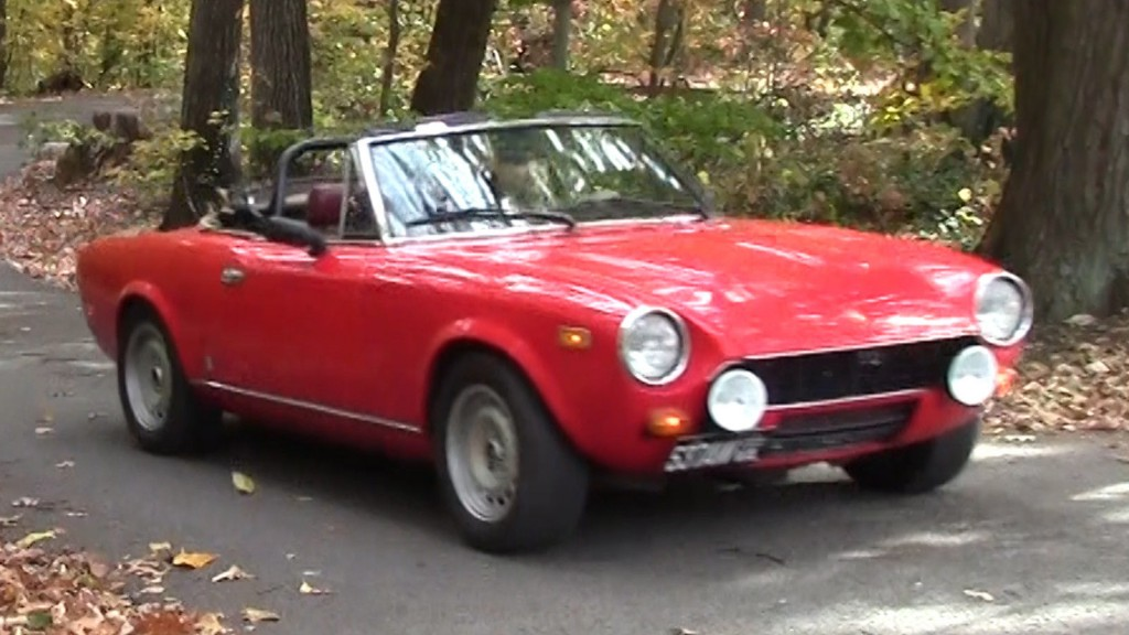 1979 fiat spider 2000 for sale. Black Bedroom Furniture Sets. Home Design Ideas