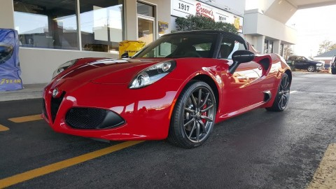 2015 Alfa Romeo 4C Spider, Every Option for sale