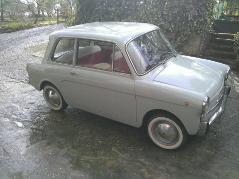 1967 Fiat Autobianchi Bianchina Berlina 4 Posti blue light for sale