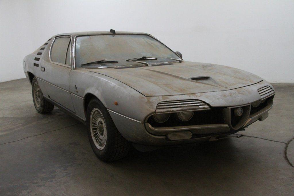 Alfa Romeo Montreal Beige Corduroy Italian Cars For Sale