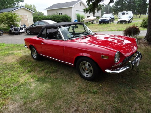 1974 Fiat 124 Spider Convertible for sale