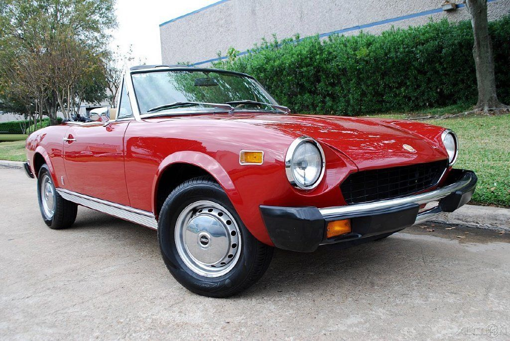 1978 fiat 124 pininfarina spider convertible for sale. Black Bedroom Furniture Sets. Home Design Ideas