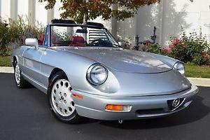 1991 Alfa Romeo Spider Veloce for sale