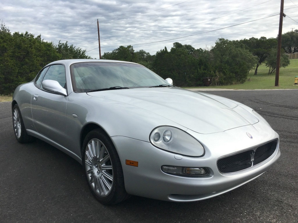 2002 maserati coupe cambiocorsa for sale. Black Bedroom Furniture Sets. Home Design Ideas