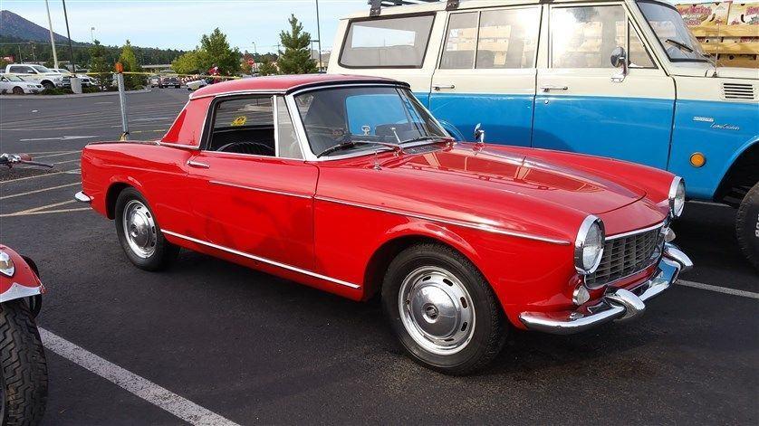 scarce 1966 fiat 1500 soft hardtop cabriolet for sale. Black Bedroom Furniture Sets. Home Design Ideas