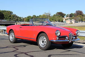 1960 Alfa Romeo Spider Giulietta Spider 1300 for sale