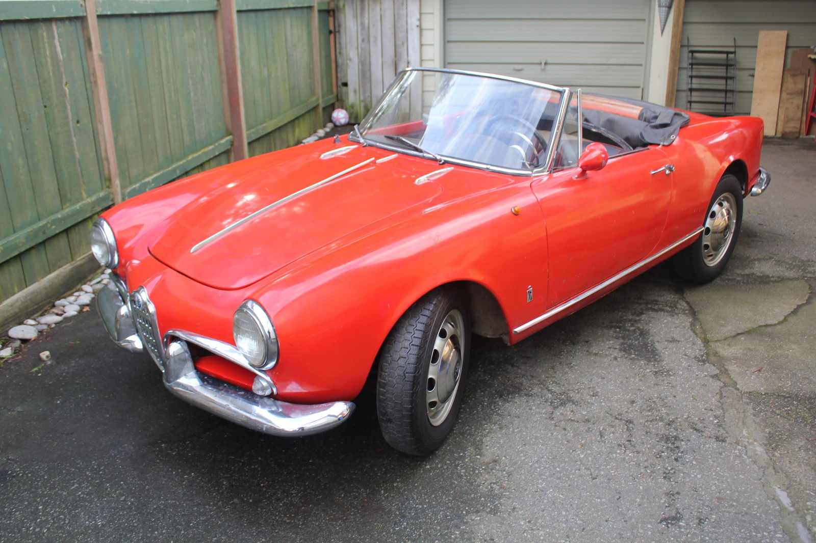 1961 Alfa Romeo Spider Normale 101 For Sale