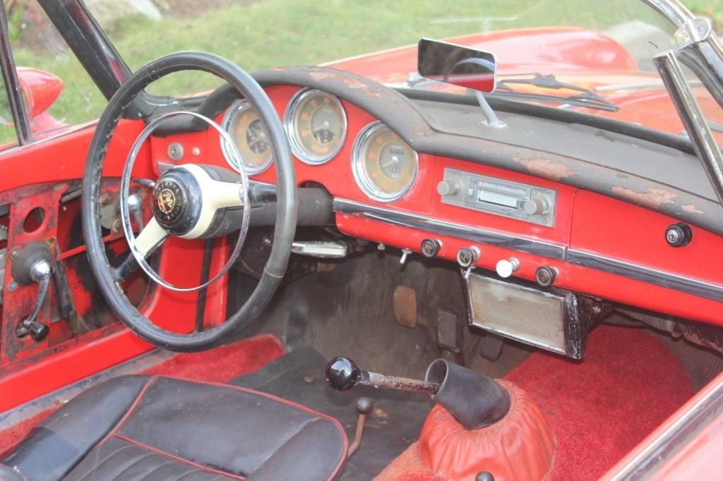 1961 Alfa Romeo Spider Normale 101
