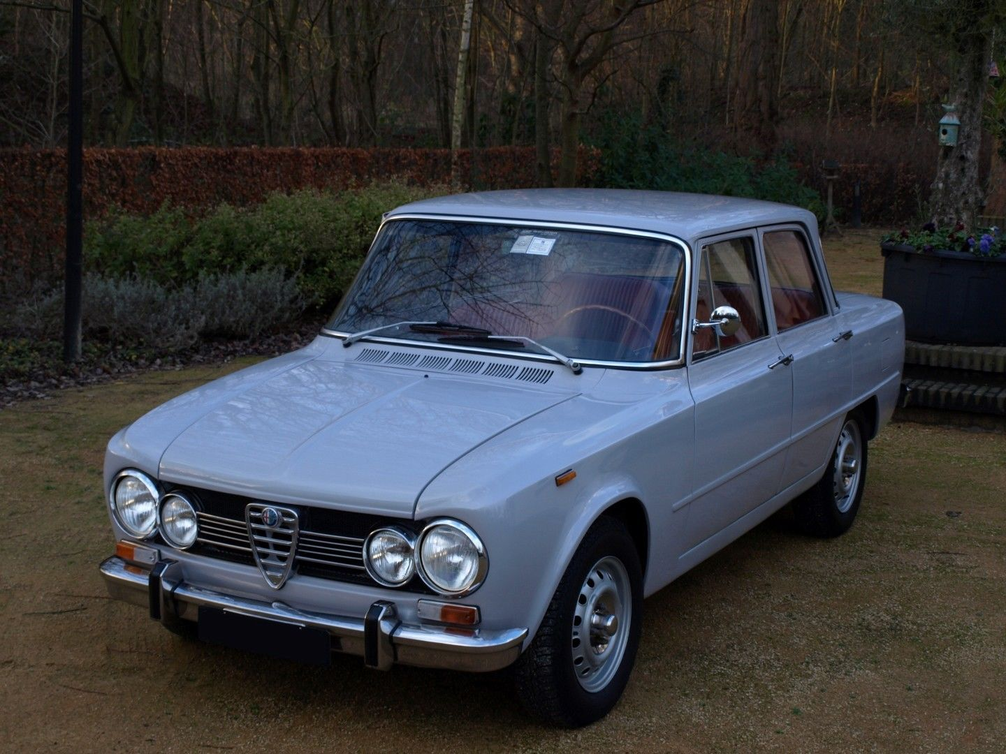 1974 alfa romeo giulia super 1300 for sale. Black Bedroom Furniture Sets. Home Design Ideas