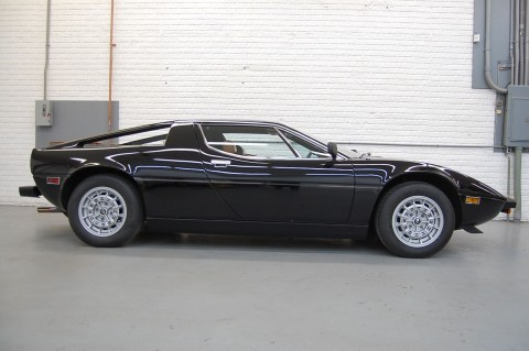 1980 Maserati Merak SS Coupe Black for sale