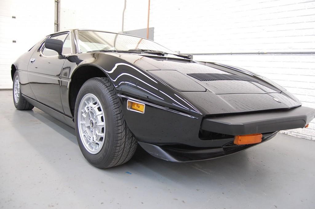 1980 Maserati Merak SS Coupe Black