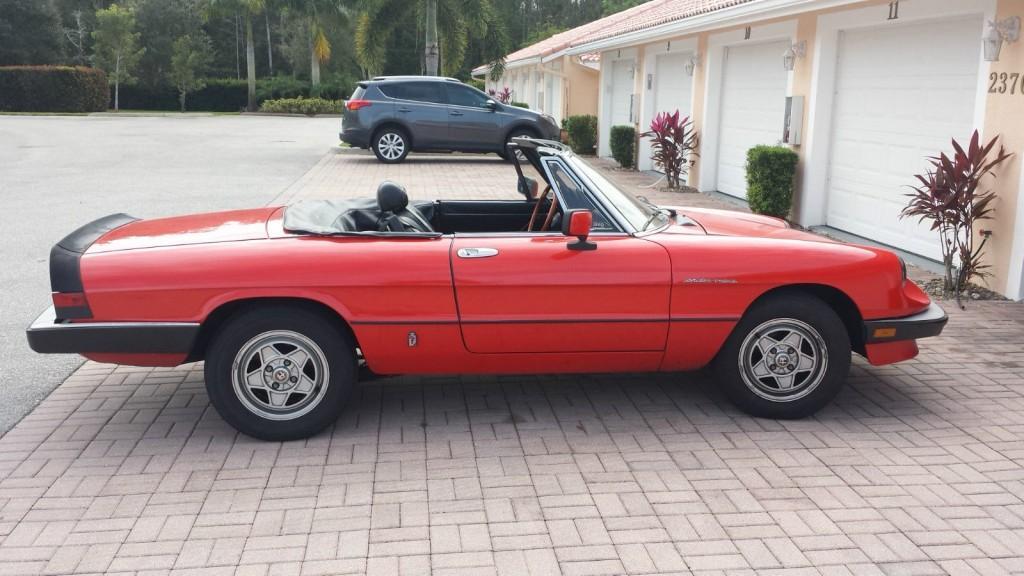 1982 alfa romeo spider veloce for sale 14