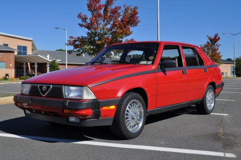 1987 Alfa Romeo Milano for sale