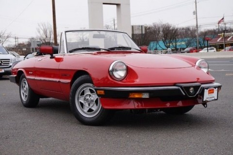 1987 Alfa Romeo Spider Veloce Roadster for sale