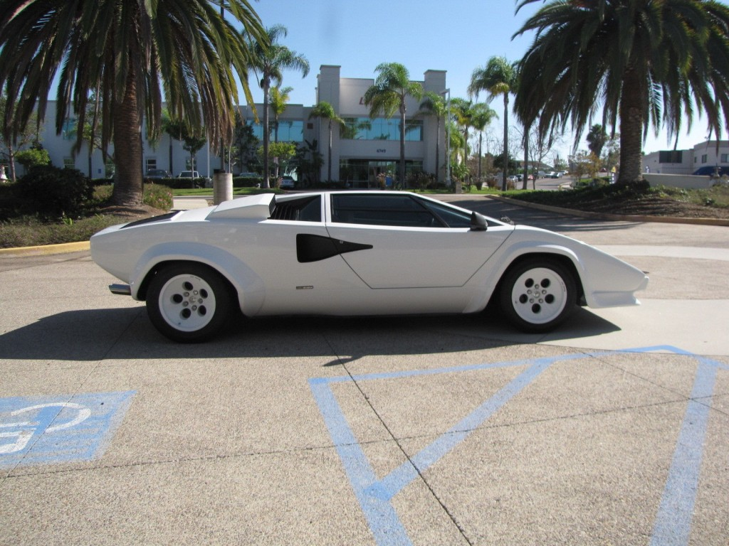 1988 lamborghini countach 5000 qv for sale. Black Bedroom Furniture Sets. Home Design Ideas