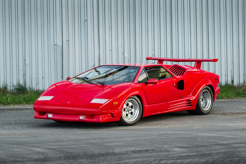 1989 lamborghini countach 25th anniversary for sale. Black Bedroom Furniture Sets. Home Design Ideas