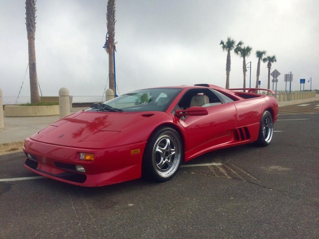 1998 Lamborghini Diablo Monterey Edition Sv 3 Of 20 For Sale