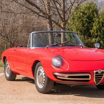 1967 Alfa Romeo Spider duetto boattail for sale