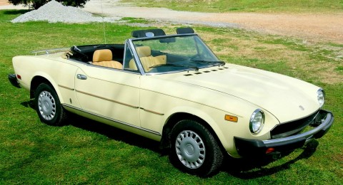 1979 Fiat 2000 Spider for sale