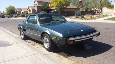 1980 Fiat X 1/9 Base Coupe 2 Door 1.5L for sale