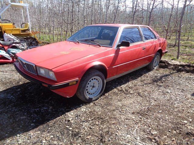 1984 Maserati Coupe Biturbo