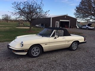 1987 Alfa Romeo Spider Convertible for sale