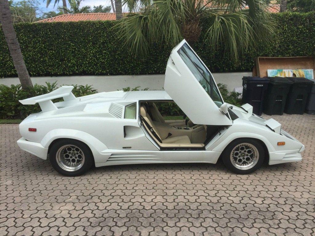1989 Lamborghini Countach LP112D 25th Anniversary