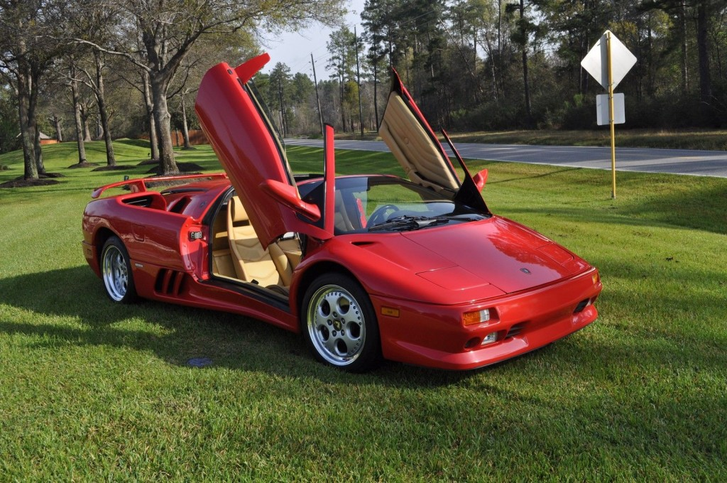 1997 Lamborghini Diablo Vt Roadster For Sale