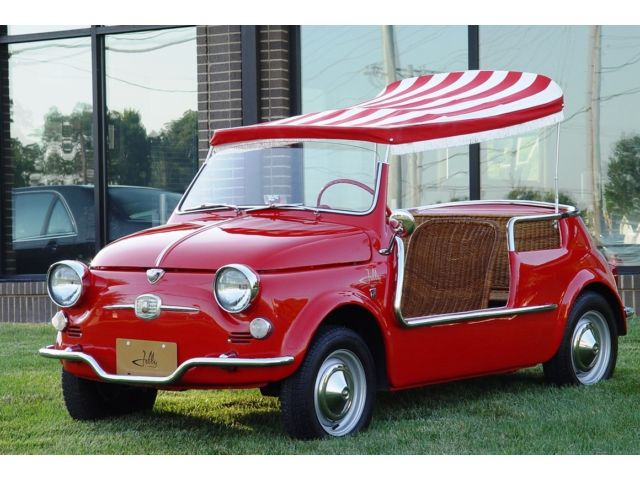 1959 fiat jolly 500 convertible for sale. Black Bedroom Furniture Sets. Home Design Ideas