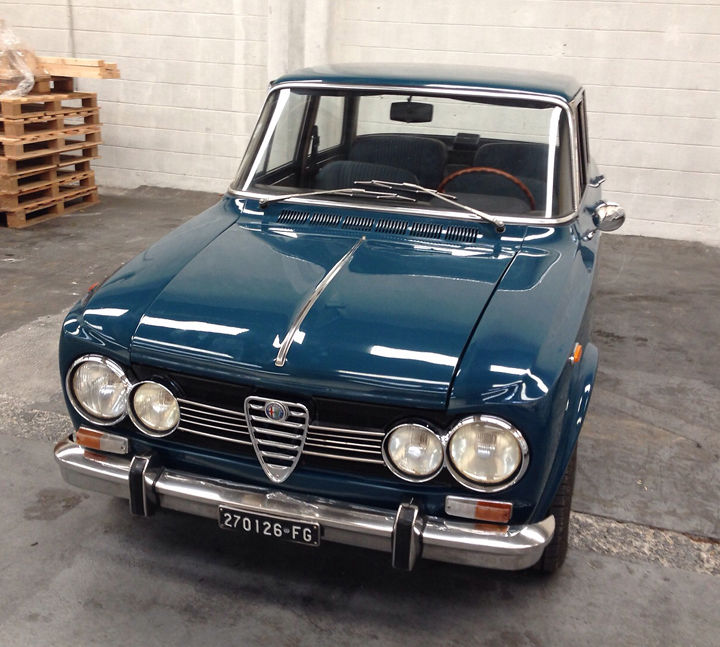 1970 alfa romeo giulia super for sale. Black Bedroom Furniture Sets. Home Design Ideas