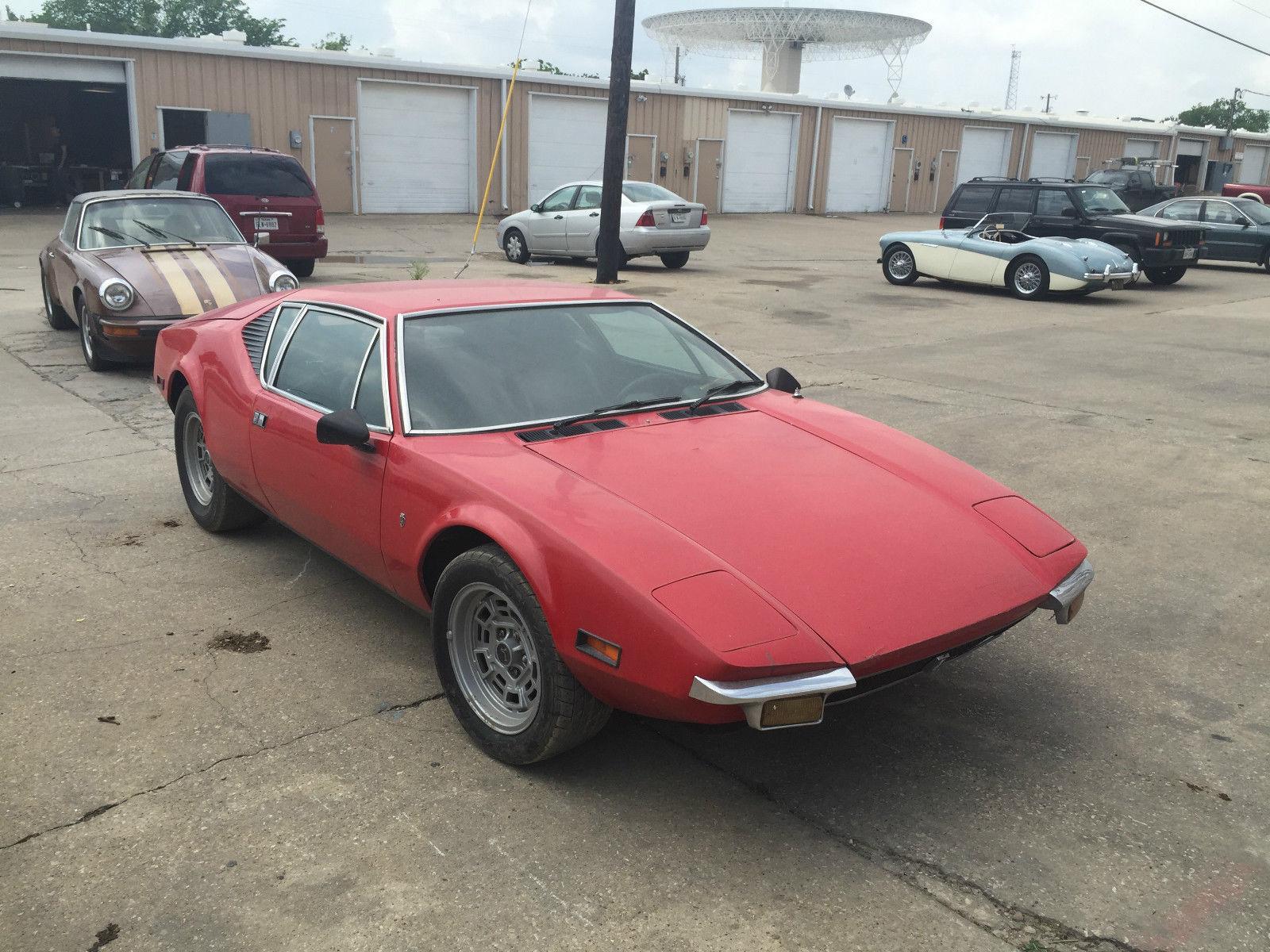 Detomaso Pantera For Sale >> 1972 De Tomaso Pantera Pre L for sale