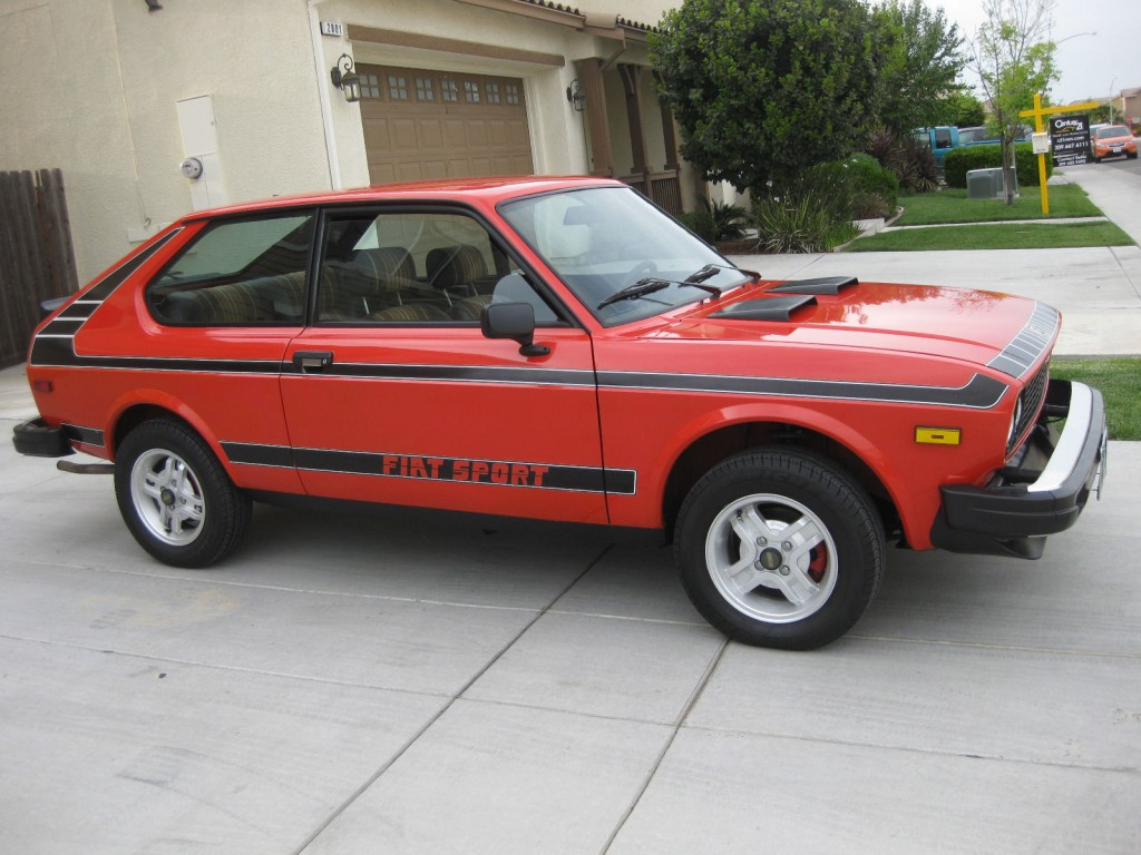 1978 fiat 128 sport 3p for sale. Black Bedroom Furniture Sets. Home Design Ideas