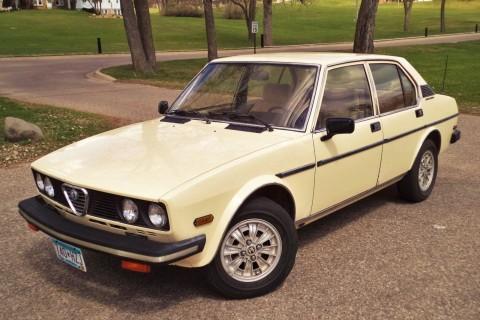 1979 Alfa Romeo Sports Sedan for sale