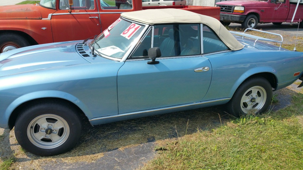 1981 Fiat Spider Convertible for sale